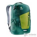 Рюкзак Deuter Stepout 16 зеленый/желтый 21х24х14 см