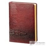 Ежедневник датированный на 2019 год InFolio Dandy искусственная кожа А5 176 листов бордовый (140x200 мм)