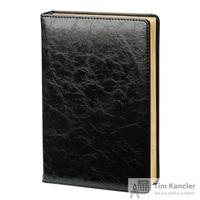 Ежедневник датированный на 2019 год InFolio Challenge искусственная кожа А5 176 листов черный (140x200 мм)
