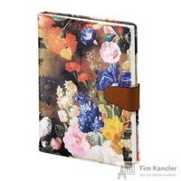 Ежедневник датированный на 2019 год InFolio Floria искусственная кожа A5 176 листов цветочный (140х200 мм)
