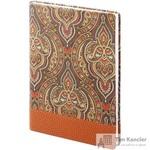 Ежедневник датированный на 2019 год InFolio Oriental искусственная кожа A5 176 листов коричневый (140х200 мм)