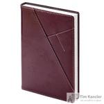 Ежедневник датированный на 2019 год InFolio Portland искусственная кожа A5 176 листов коричневый (140х200 мм)
