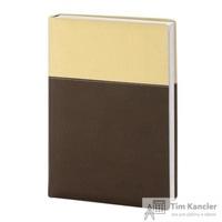 Ежедневник датированный на 2019 год InFolio Patchwork искусственная кожа A5 176 листов коричневый (140х200 мм)