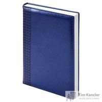 Ежедневник датированный на 2019 год InFolio Lozanna искусственная кожа A5 176 листов синий (140х200 мм)
