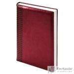 Ежедневник датированный на 2019 год InFolio Lozanna искусственная кожа A5 176 листов бордовый (140х200 мм)