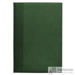 Еженедельник датированный на 2019 год InFolio Velure искусственная кожа A4 64 листа зеленый (210х300 мм)