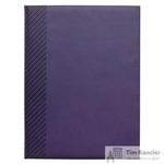 Ежедневник датированный на 2019 год InFolio Velure искусственная кожа A5 176 листов фиолетовый (150х210 мм)