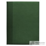 Ежедневник датированный на 2019 год InFolio Velure искусственная кожа A5 176 листов зеленый (150х210 мм)