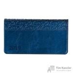 Еженедельник датированный на 2019 год InFolio Dolce Vita искусственная кожа A6 64 листа синий (160x90 мм)