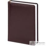 Ежедневник датированный на 2019 год Attache Каньон искусственная кожа А6 176 листов бордовый (110x155 мм)