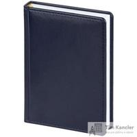 Ежедневник датированный на 2019 год Attache Каньон искусственная кожа А6 176 листов синий (110x155 мм)