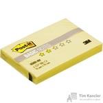 Стикеры Post-it Basic 51x76 мм пастельные желтые (1 блок, 100 листов)