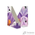 Вертикальный накопитель Attache Selection Сrocus картонный сиреневый ширина 75 мм (2 штуки в упаковке)