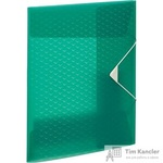 Папка на резинках Esselte Colour'Ice пластиковая зеленая (0.5 мм, до 150 листов)