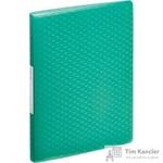 Папка файловая на 60 файлов Esselte Colour'Ice зеленая
