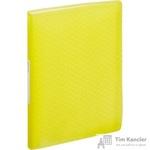 Папка файловая на 80 файлов Esselte Colour'Ice желтая