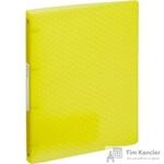 Папка на 4-х кольцах Esselte Colour'Ice пластиковая 25 мм желтая