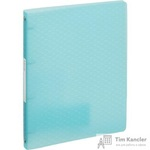 Папка на 4-х кольцах Esselte Colour'Ice пластиковая 25 мм синяя