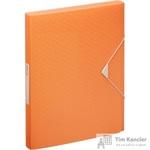 Папка на резинках (бокс) Esselte Colour'Ice пластиковая оранжевая (0.5 мм, до 200 листов)