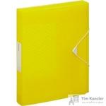 Папка на резинках (бокс) Esselte Colour'Ice пластиковая желтая (0.5 мм, до 300 листов)