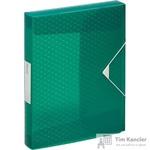 Папка на резинках (бокс) Esselte Colour'Ice пластиковая зеленая (0.5 мм, до 300 листов)