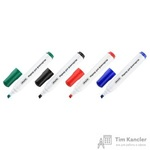 Набор маркеров для флипчартов Attache 4 штуки (толщина линии 2-3 мм)