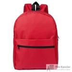 Рюкзак из полиэстера красного цвета