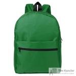 Рюкзак из полиэстера зеленого цвета