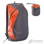 Рюкзак складной Wick серый/оранжевый