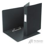 Папка на 2-х кольцах Bantex картонная/пластиковая 35 мм черная