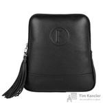 Рюкзак женский Fabula из натуральной кожи черного цвета (S.141/1(F).BK)