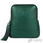 Рюкзак женский Fabula из натуральной кожи зеленого цвета (S.141/1(F).PM)