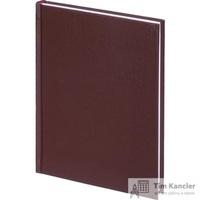 Ежедневник датированный на 2019 год Ideal балакрон А5 176 листов коричневый (146x206 мм)