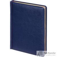 Ежедневник датированный на 2019 год Attache Sidney Nebraska искусственная кожа А5 168 листов синий (золотистый обрез, 145x205 мм)