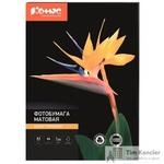 Фотобумага для цветной струйной печати Комус (матовая, А3, 200 г/кв.м, 50 листов)