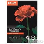 Фотобумага для цветной струйной печати Комус Glossy (глянцевая, А4, 180 г/кв.м, 50 листов)