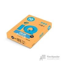 Бумага цветная для офисной техники IQ Color оранжевая неоновая NEOOR (А4, 80 г/кв.м, 500 листов)