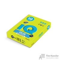 Бумага цветная для офисной техники IQ Color зеленая неоновая NEOGN (А4, 80 г/кв.м, 500 листов)