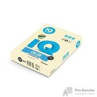 Бумага цветная для офисной техники IQ Color ванильно-бежевая BE66 (А4, 160 г/кв.м, 250 листов)