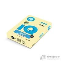 Бумага цветная для офисной техники IQ Color желтая YE23 (А4, 160 г/кв.м, 250 листов)