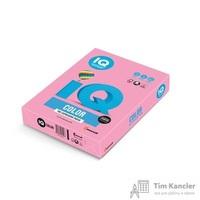 Бумага цветная для офисной техники IQ Color розовая PI25 (А4, 160 г/кв.м, 250 листов)