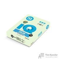 Бумага цветная для офисной техники IQ Color светло-зеленая GN27 (А4, 160 г/кв.м, 250 листов)