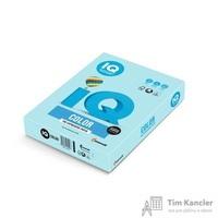 Бумага цветная для офисной техники IQ Color голубая MB30 (А4, 160 г/кв.м, 250 листов)