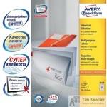 Этикетки самоклеящиеся Avery Zweckform белые 70х16.9 мм (51 штука на листе A4, 100 листов, артикул производителя 3420)