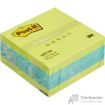 Стикеры Post-it Original Весна 76х76 мм неоновые 3 цвета (1 блок, 400 листов)