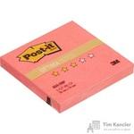 Стикеры Post-it Original Лето 76x76 мм неоновые розовые (1 блок, 100 листов)