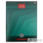 Бизнес-тетрадь Проф-пресс Геометрический стиль А4 80 листов зеленая в клетку на скрепке  (273х202 мм)