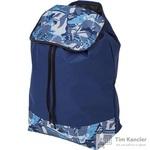 Сумка сменная для тележки синий ткань 50x33x20 см