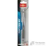 Ручка шариковая масляная автоматическая Unimax Top Tek RT синяя (толщина линии 0,7 мм)