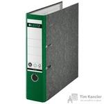 Папка-регистратор Leitz 80 мм мрамор зеленая
